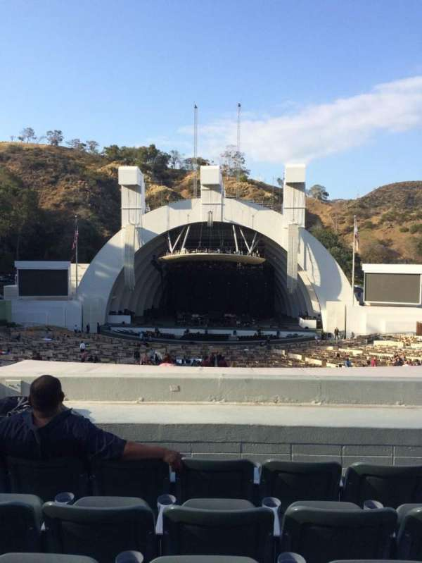 Hollywood Bowl, section: G1, row: 8, seat: 17