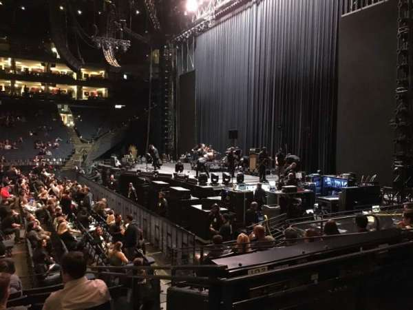 Oakland Arena, section: 127, row: 8, seat: 12