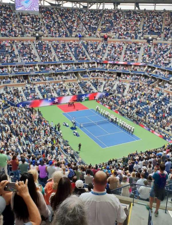 Arthur Ashe Stadium, section: 337, row: K, seat: 145