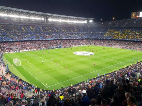 Camp Nou, section: 329, row: 35, seat: 108