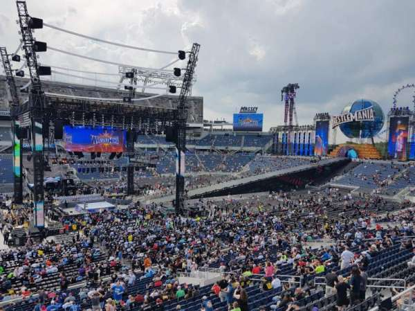 Camping World Stadium, section: P09, row: H, seat: 5