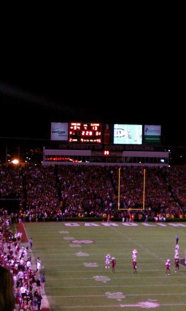Williams-Brice Stadium, section: 803, row: 5, seat: 11