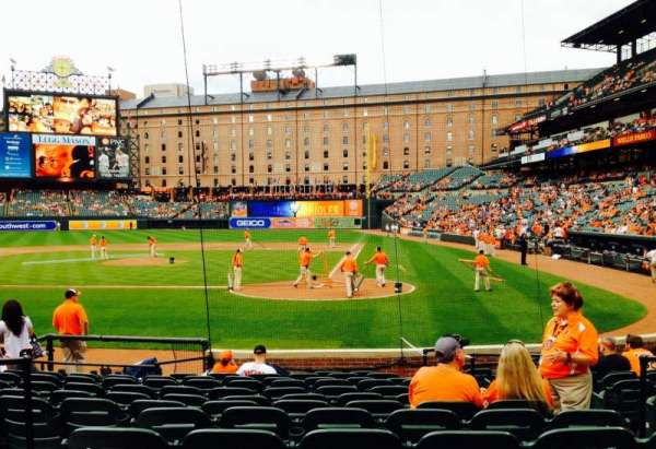 Oriole Park at Camden Yards, section: 44, row: 13, seat: 5