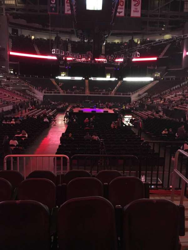 State Farm Arena, section: 121, row: E, seat: 2