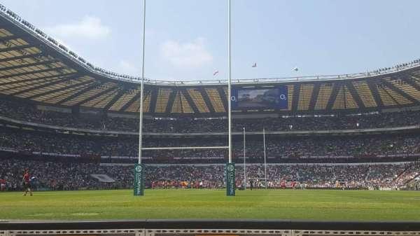 Twickenham Stadium, section: Enclosure 7, row: 1, seat: 151