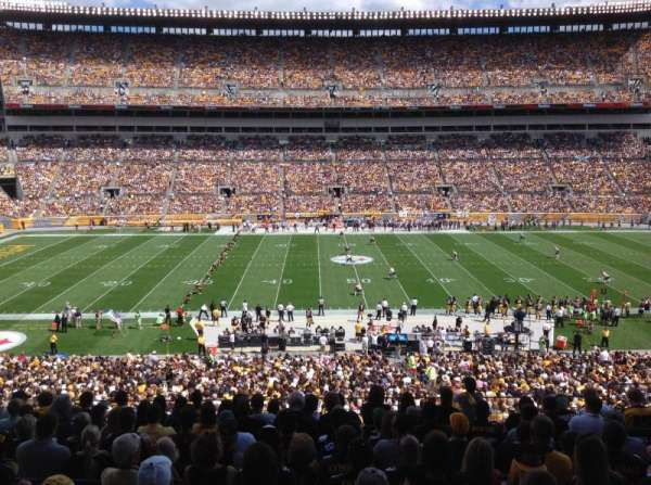 Heinz Field, section: 234, row: M, seat: 5