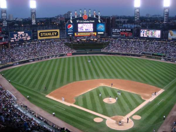Guaranteed Rate Field, section: 534, row: 21, seat: 6
