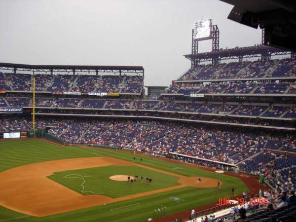 Citizens Bank Park, section: 232, row: 9, seat: 10