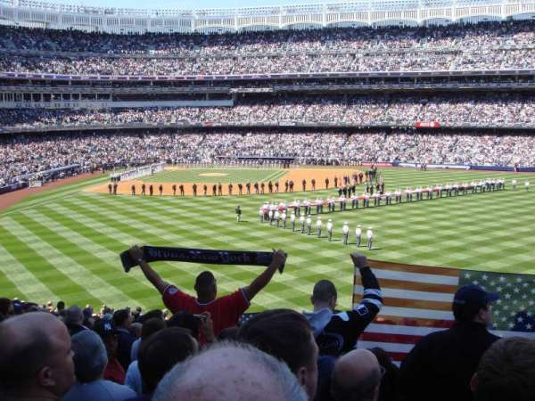 Yankee Stadium, section: 203, row: 23