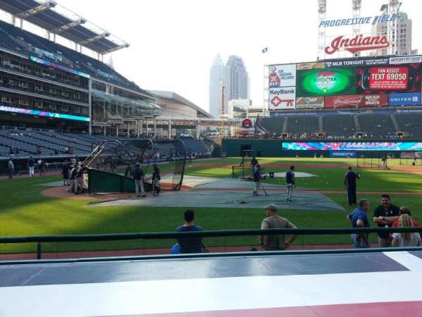 Progressive Field, section: 148, row: 2, seat: 6