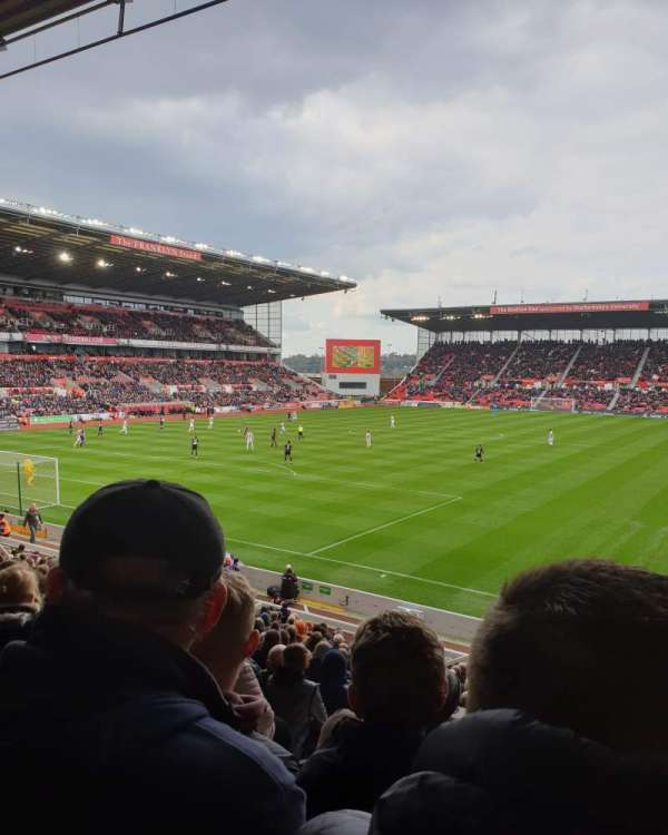 bet365 Stadium, section: Block 37, row: 22, seat: 842