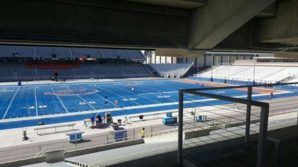Albertsons Stadium, section: 24, row: U, seat: 3