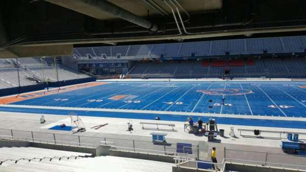 Albertsons Stadium, section: 23, row: W, seat: 10