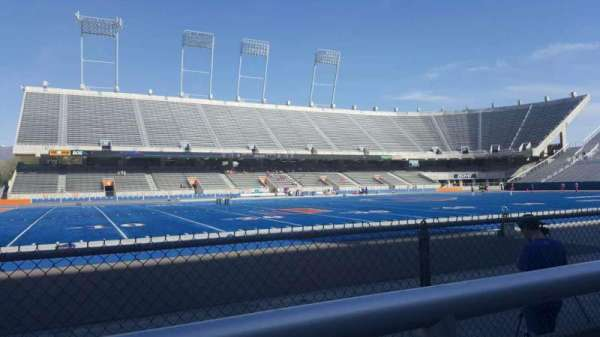 Albertsons Stadium, section: 10, row: A, seat: 29