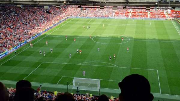 Old Trafford, section: W3104, row: 35, seat: 61