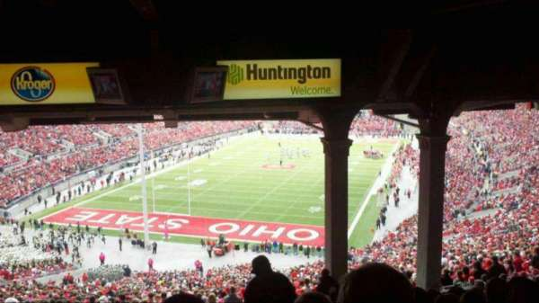 Ohio Stadium, section: 3B, row: 13, seat: 22