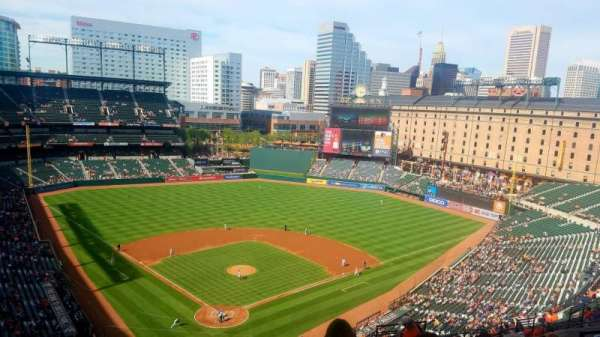 Oriole Park at Camden Yards, section: 334, row: 22, seat: 8