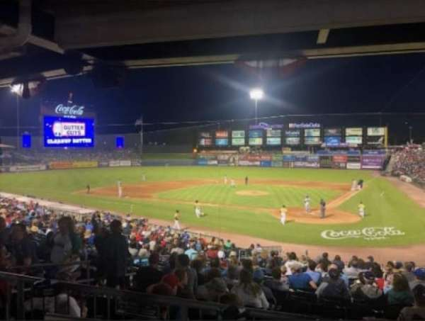 Coca-Cola Park, section: 114, row: Behind, seat: GA