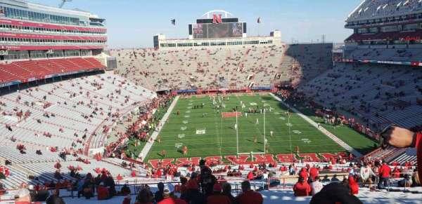 Memorial Stadium (Lincoln), section: 16-B2, row: 97, seat: 46