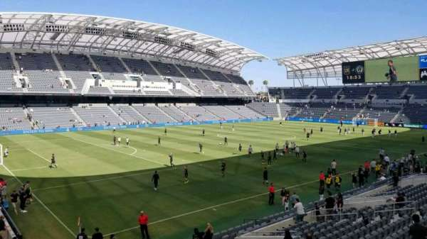 Banc of California Stadium, section: 135, row: r, seat: 26