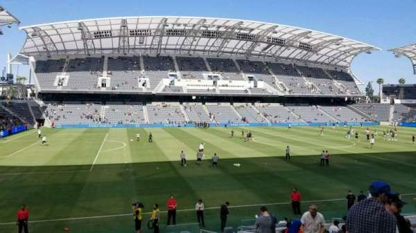 Banc of California Stadium, section: 134, row: Q, seat: 4