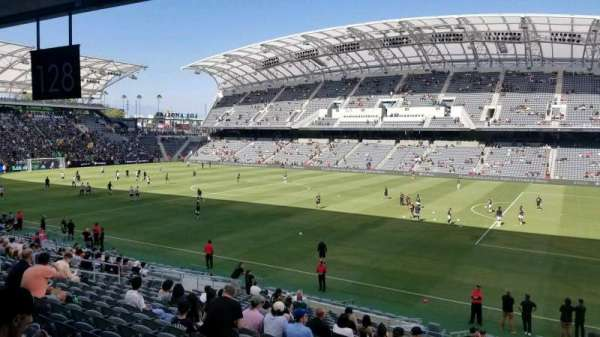 Banc of California Stadium, section: 128, row: U, seat: 1