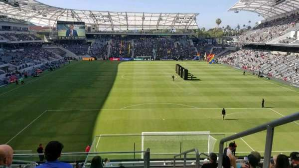 Banc of California Stadium, section: 223, row: H, seat: 1