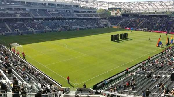 Banc of California Stadium, section: 228, row: L, seat: 2