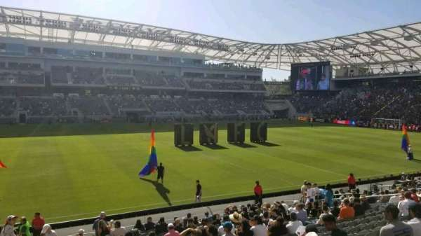 Banc of California Stadium, section: 115, row: T, seat: 23