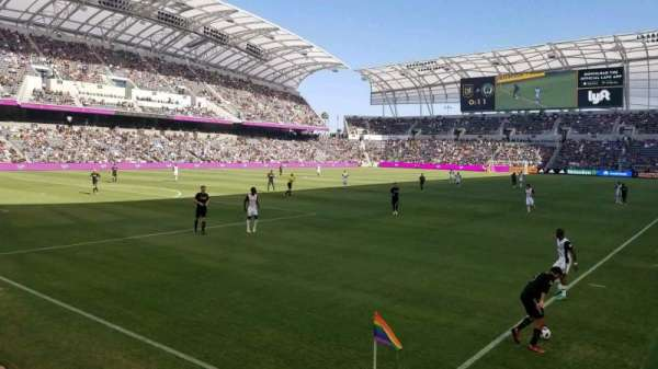 Banc of California Stadium, section: 101, row: D, seat: 1