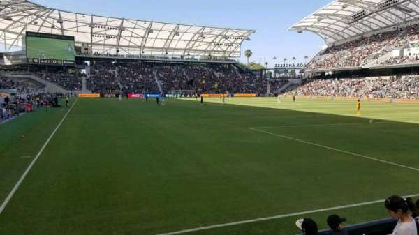 Banc of California Stadium, section: 124, row: D, seat: 23