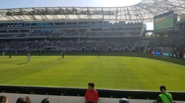 Banc of California Stadium, section: 109, row: E, seat: 24