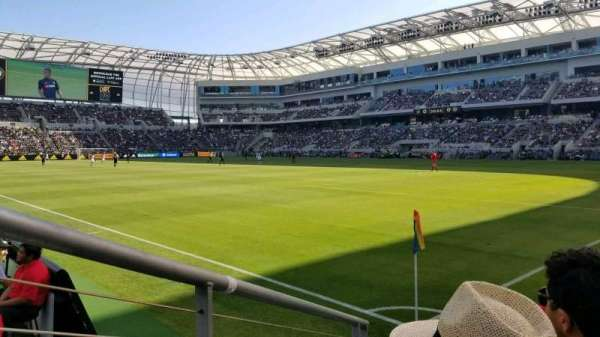 Banc of California Stadium, section: 108, row: C, seat: 4
