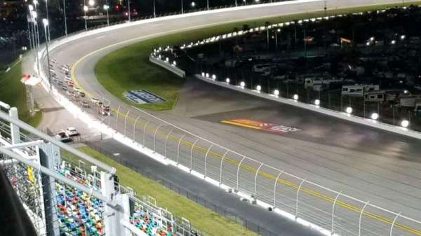 Daytona International Speedway, section: 413, row: 25, seat: 1