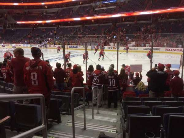 Capital One Arena, section: 114, row: J, seat: 1