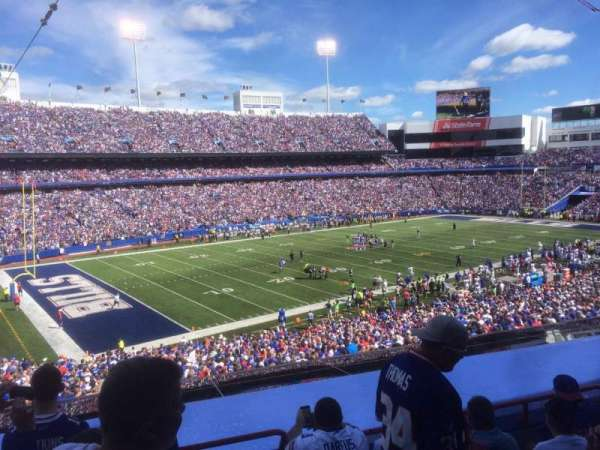New Era Field, section: 238, row: 5, seat: 1