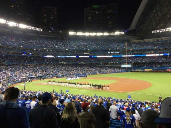 Rogers Centre, section: 114R, row: 37, seat: 1