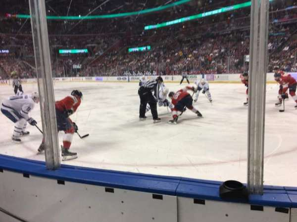 BB&T Center, section: 114, row: 2, seat: 1