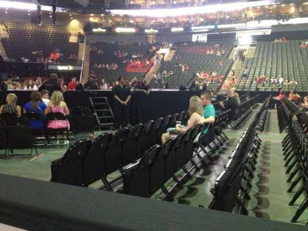 Sprint Center, section: 106, row: 1, seat: 18