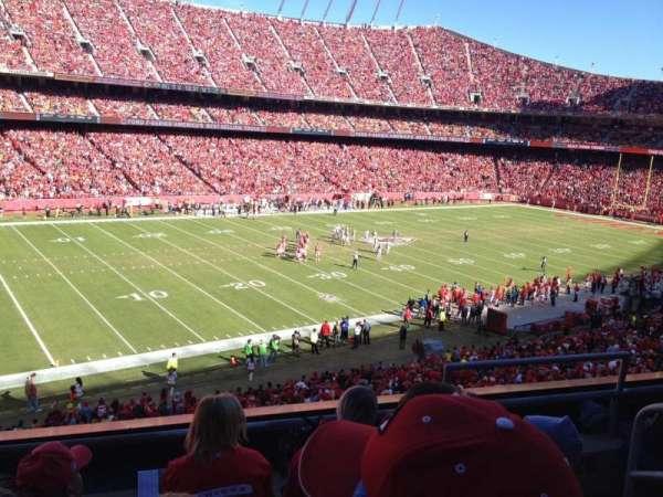 Arrowhead Stadium, section: 229, row: 4, seat: 5