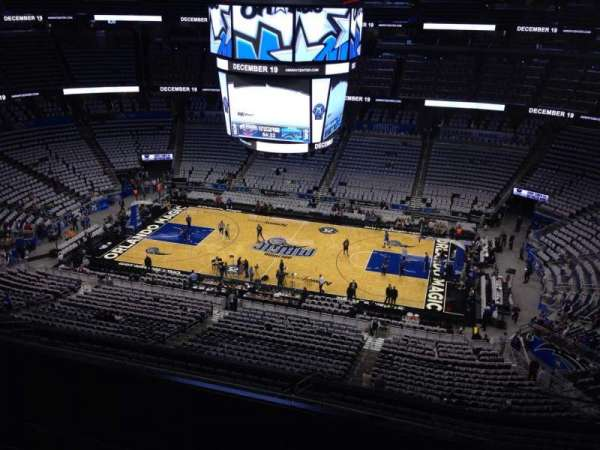 Amway Center, section: 208, row: 5, seat: 1