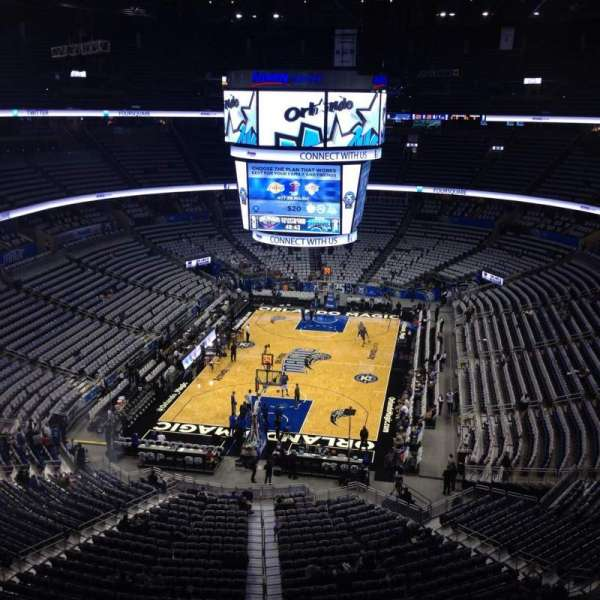 Amway Center, section: 232, row: 3, seat: 10