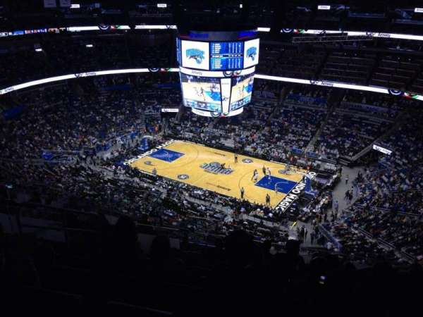 Amway Center, section: 206, row: 15, seat: 19