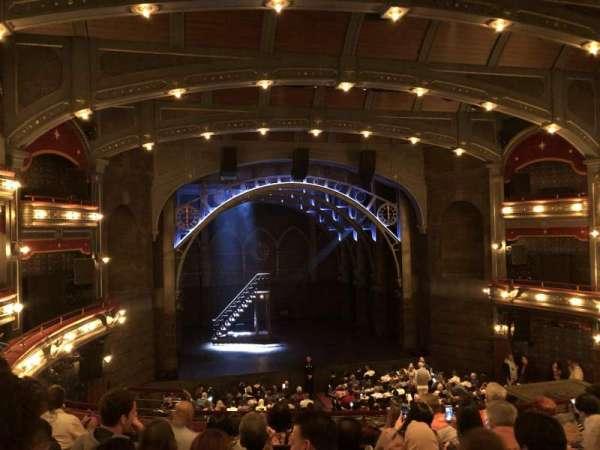 Lyric Theatre, section: Dress Circle C, row: G, seat: 103
