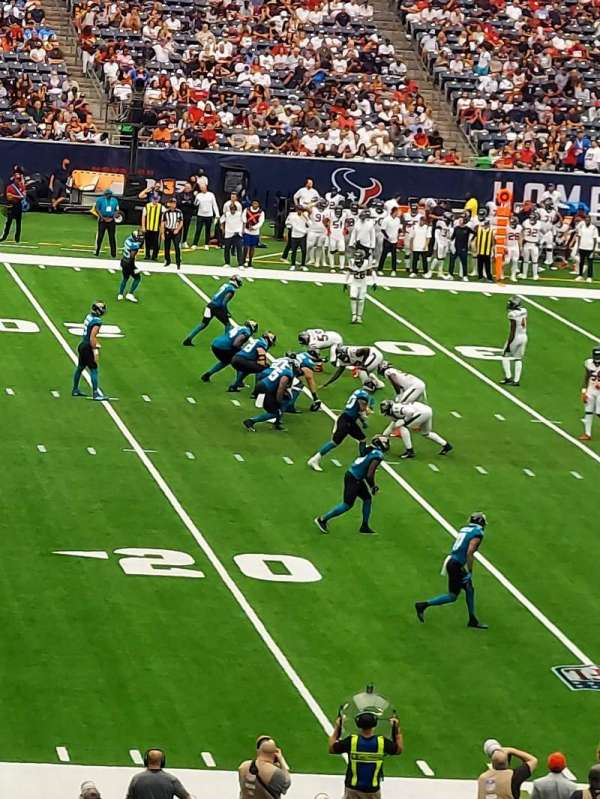 NRG Stadium, section: 129, row: JJ, seat: 21