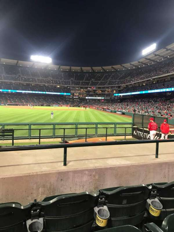 Angel Stadium, section: P259, row: J, seat: 2