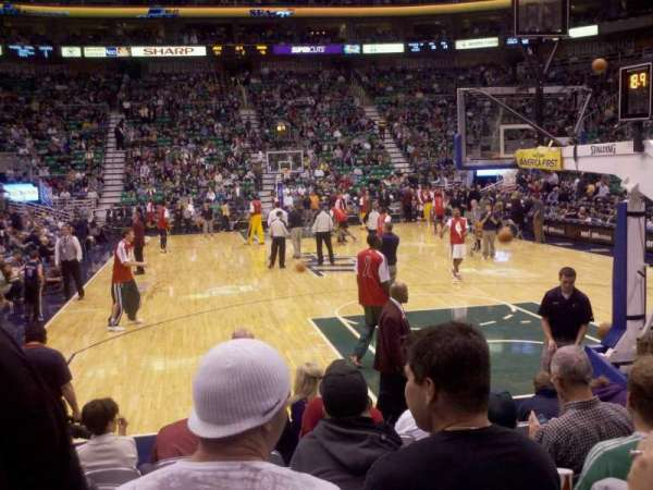 Vivint Smart Home Arena, section: 13, row: 6, seat: 8