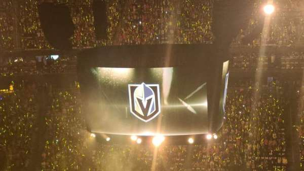 T-Mobile Arena, section: 226, row: q, seat: 8