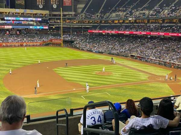 Chase Field, section: 214, row: 6, seat: 1