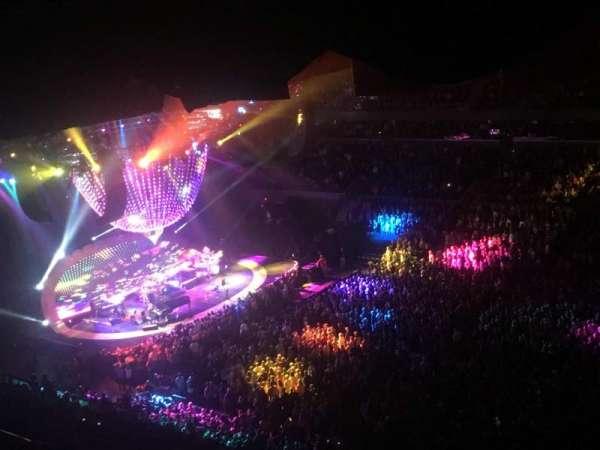 John Paul Jones Arena, section: 311, row: AA, seat: 12